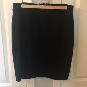 Gap pencil skirt black 12P